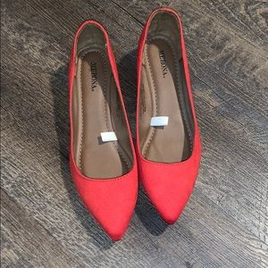 Merona pointed toe flats
